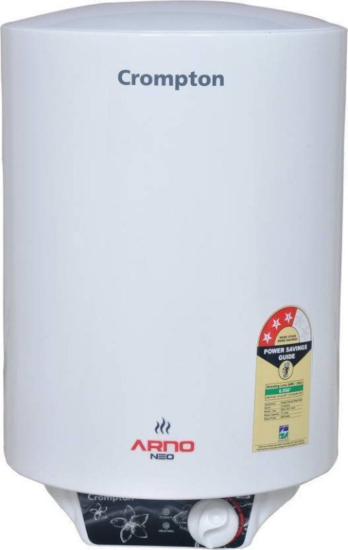 Crompton 25 L Storage Water Geyser (Arno Neo 2125 (White) Copper Heating Element, White)