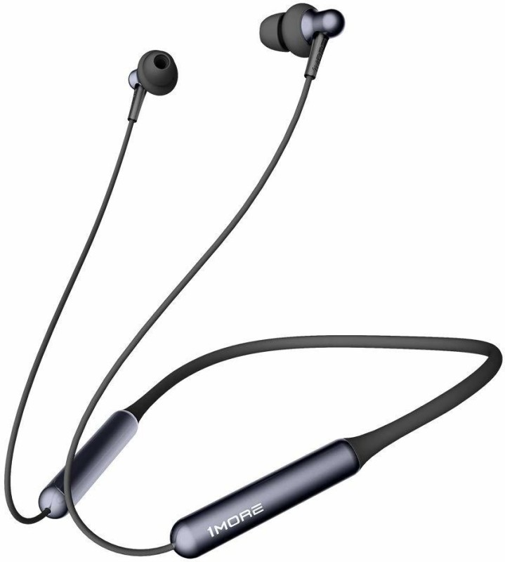 1More Stylish Dual Dynamic Driver Bluetooth Earphones Bluetooth Headset with Mic(Black, In the Ear)