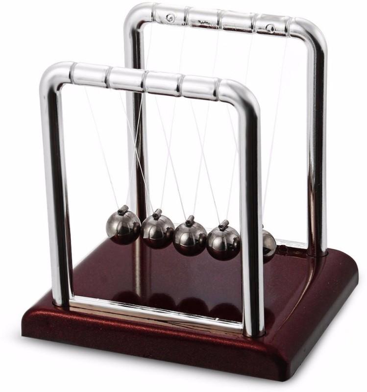 Kurtzy Newton Cradle Pendulum Swing Balance Ball Decoration for Home Newton Cradle