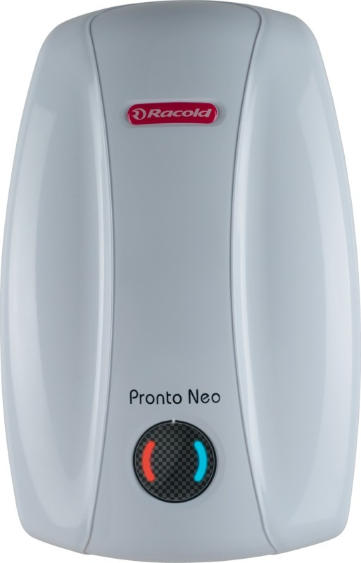 Racold 6 L Instant Water Geyser (Pronto Neo SS 6V 3KW, White)