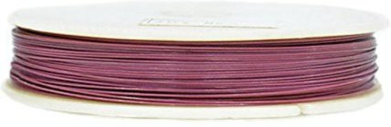 Embroiderymaterial 7 Strand Bead Stringing Wire Pink Beading Wire(Diameter :  0.45 mm)