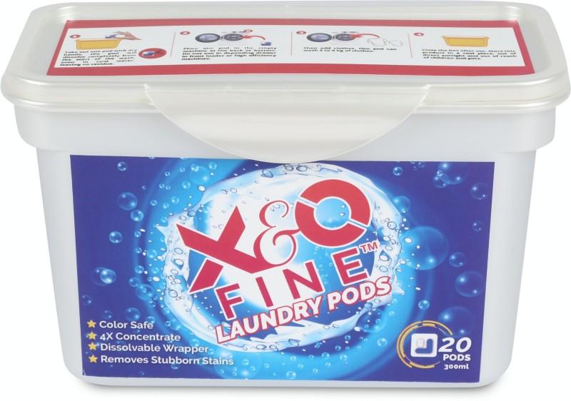 X&O FINE Washing pod Wild Orchid Detergent Pod(20 Pods)