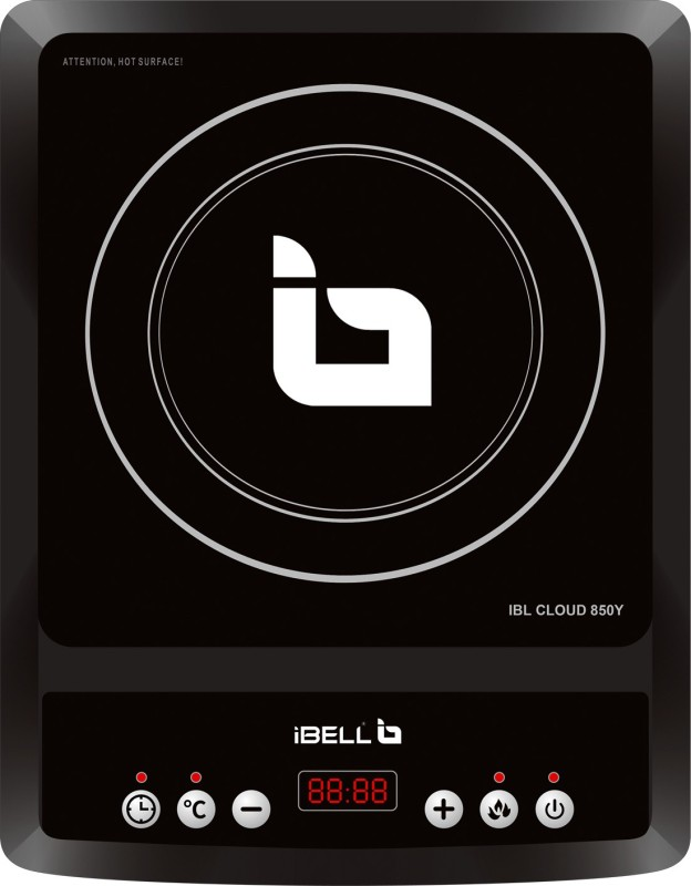 iBELL IBL CLOUD 850Y Induction Cooktop(Black, Push Button)