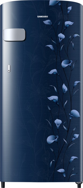 Samsung 192 L Direct Cool Single Door 2 Star Refrigerator(Tender Lily Blue, RR19R2Y12UZ/NL)