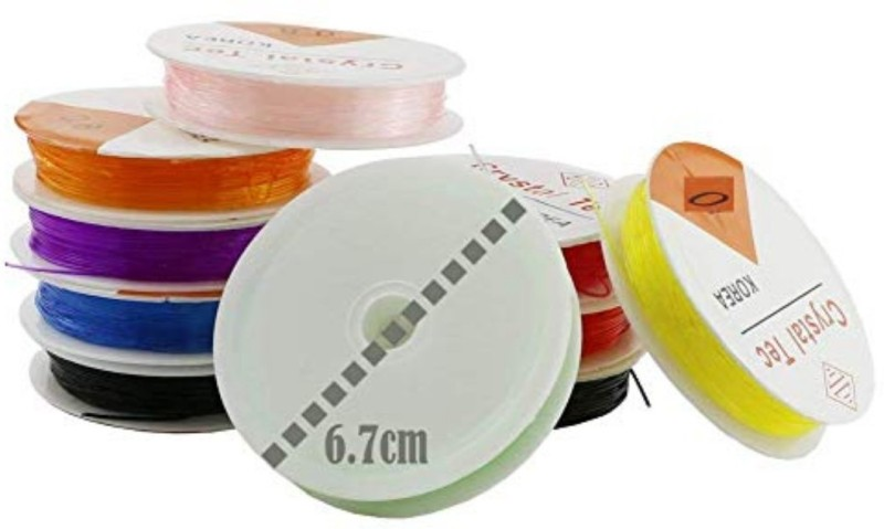 DIY Crafts Multicolor Beading Wire(Diameter :  0.8 mm)