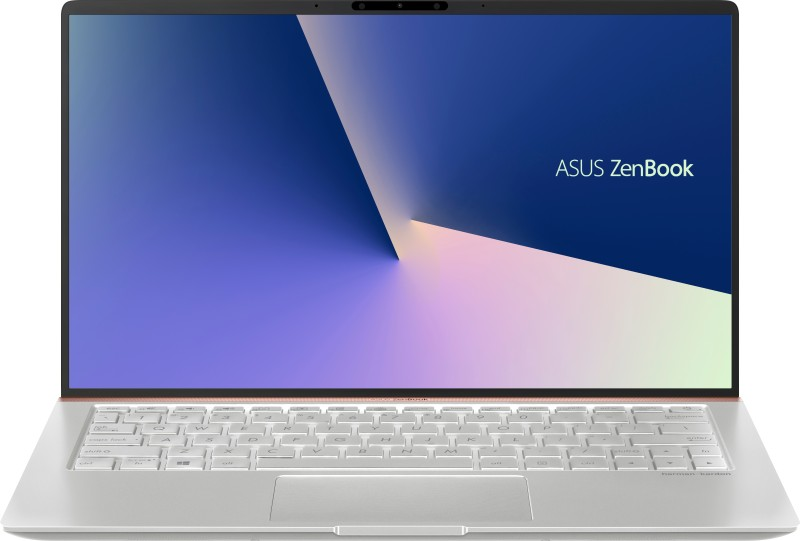 Asus ZenBook 14 Core i7 8th Gen - (8 GB/512 GB SSD/Windows 10 Home) UX433FA-A6111T Thin and Light Laptop(14 inch, Icicle Silver, 1.19 kg)