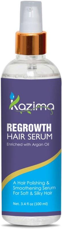 KAZIMA ReGrowth HAIR SERUM (100ML) Enriched with Argan Oil(100 ml)