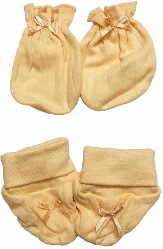 Babysid Collections Baby Boys & Baby Girls Casual Bootie Mitten(Multicolor)