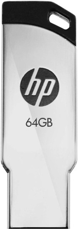 HP 64GB|2.0 64 GB Pen Drive(Grey)