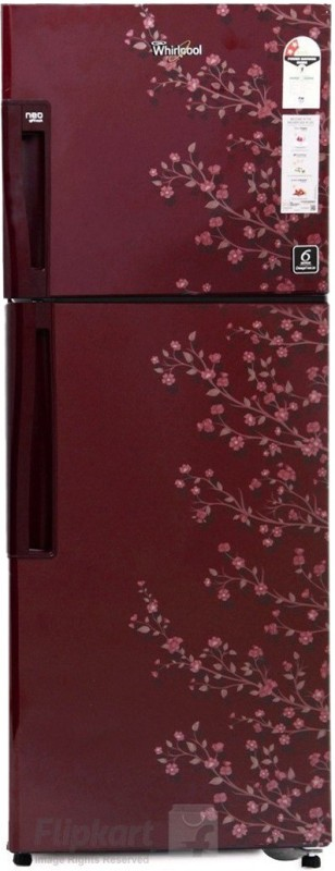 Whirlpool 245 L Frost Free Double Door 2 Star Refrigerator(Wine Gloria, NEO FR258 CLS PLUS WINE GLORIA (2S))