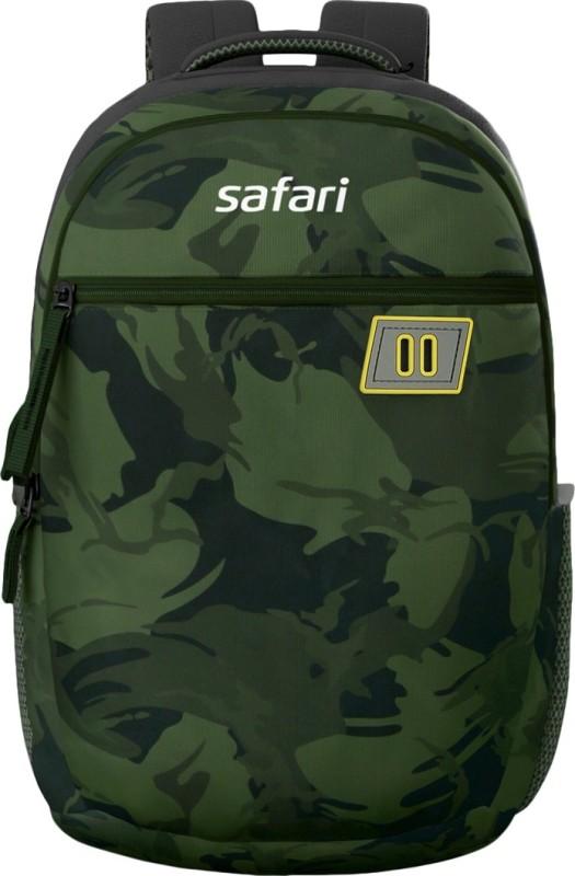 Safari COMBAT 19 Green Casual backpack 30 L Medium Backpack(Green)
