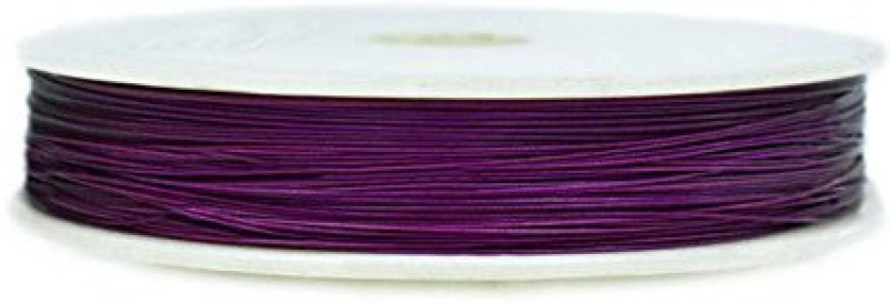 Embroiderymaterial 7 Strand Bead Stringing Wire Purple Beading Wire(Diameter :  0.45 mm)