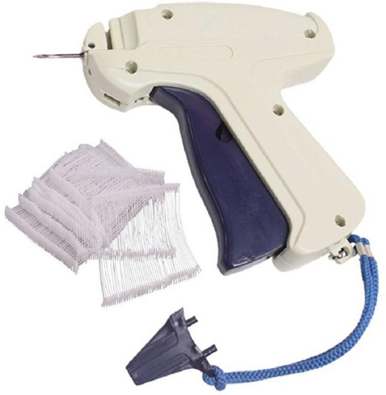 Sadar Shop 9S Arrow Tag Gun, 65mm 1000 WHITE Tag Pin Barbs,1 Needle Cloth Price Label Attacher Taging Gun