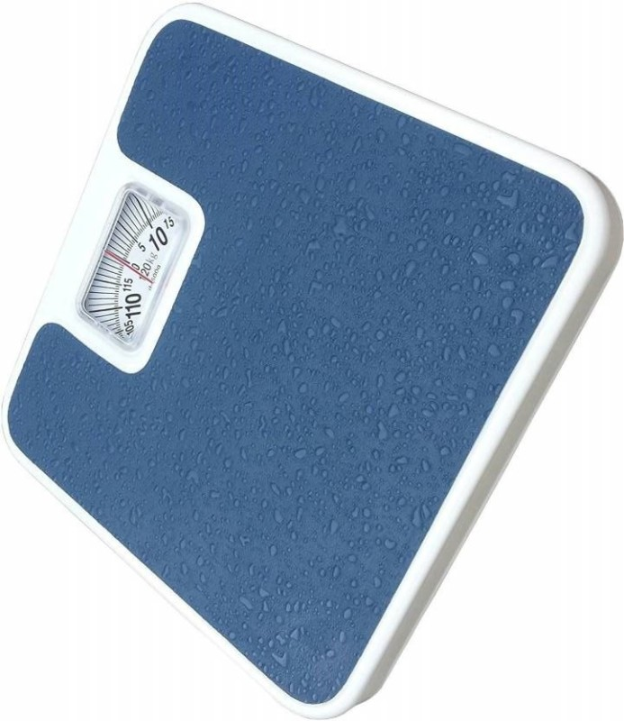 Ziork Analog Weight Machine Capacity 120 Kg Mechanical Analog 9811R Weighing Scale(Multicolor)