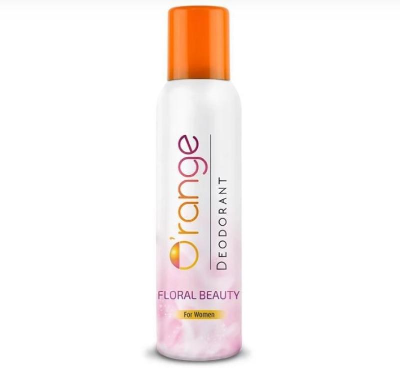 ORANGE FLORAL BEAUTY Deodorant Spray - For Women(150 ml)