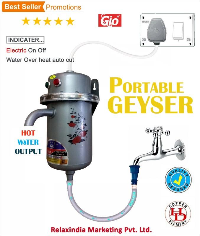 lonik 1 L Instant Water Geyser (LTPL-7060-N, Blue)