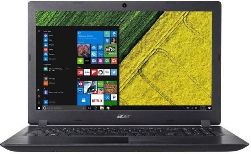 Acer Aspire 3 APU Dual Core A4 7th Gen - (4 GB/1 TB HDD/Windows 10 Home) A315-21 Laptop(15.6 inch, Obsidian Black)