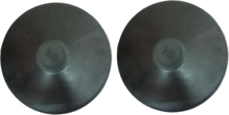 Arnav Rubber Discus Throw for Male & Female 1 Kg Set of 2 Pcs Sponge Discus Throw Disc(2 kg)