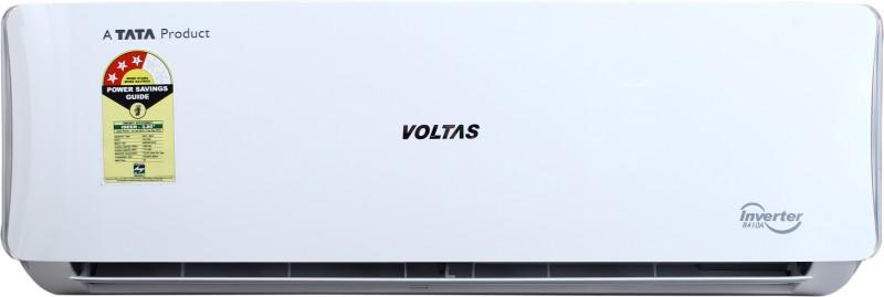 Voltas 1.0 Ton 3 Star Split Inverter AC - White(123 VDZU (R-410A) / 123V DZU2 (R-410A), Copper Condenser)