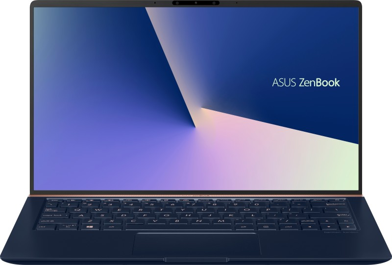 Asus ZenBook 14 Core i5 8th Gen - (8 GB/512 GB SSD/Windows 10 Home/2 GB Graphics) UX433FN-A6125T Thin and Light Laptop(14 inch, Royal Blue, 1.19 kg)