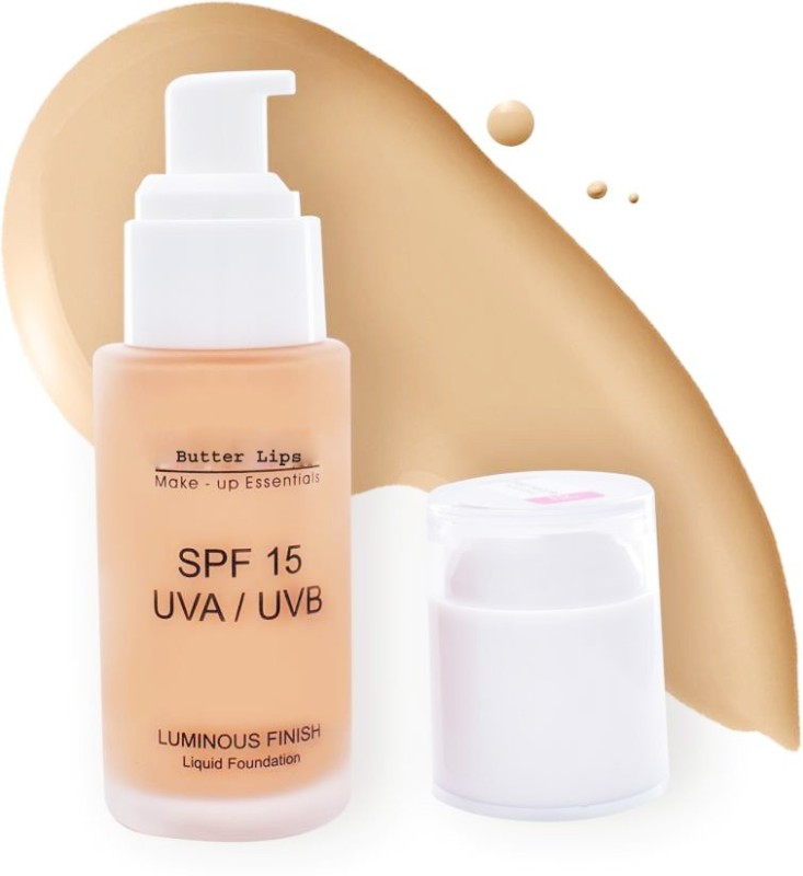 Butter Lips LIQUID FOUNDATION Foundation(Natural Beige, 40 ml)