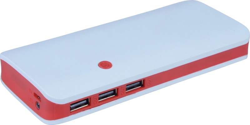CRAWL 20000 mAh Power Bank (p 3, portable battery charger)(red, Lithium-ion)