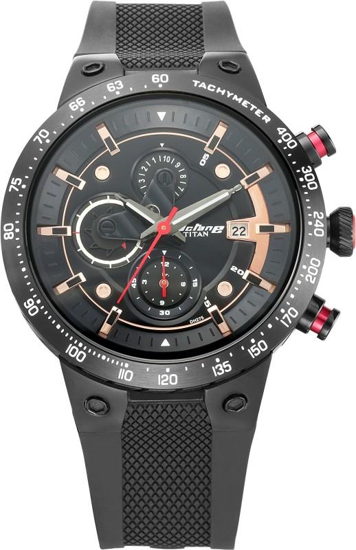 Titan 1761KP02 Octane Signature Analog Watch - For Men