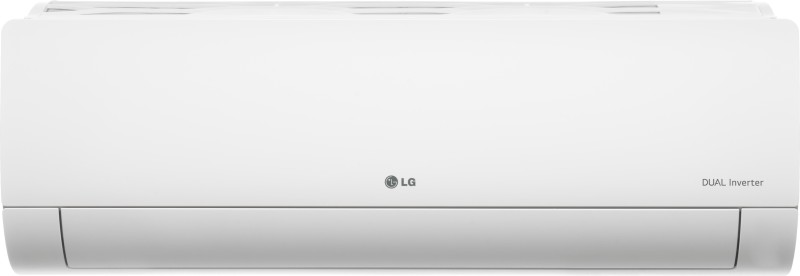 LG 1.0 Ton 5 Star Split Dual Inverter AC - White(KS-Q12YNZA, Copper Condenser)