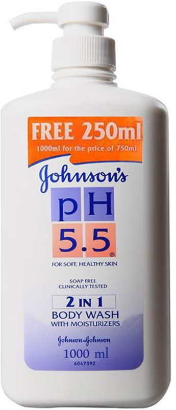 Johnson's Ph 5.5 2 In 1 Moisturizers(1000 ml)