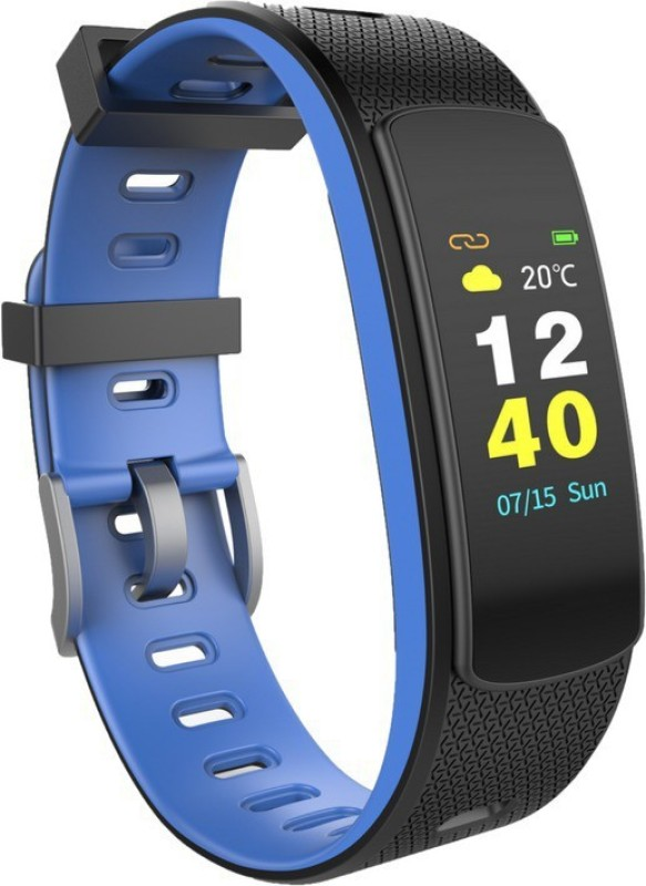 Omnix i6 HR-C Fitness Band(Blue, Pack of 1)