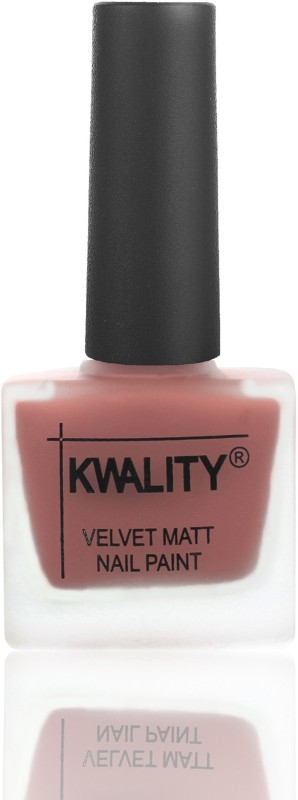 Kwality No Chipping-No Fading Longest Lasting Nail Polish Dark Nude