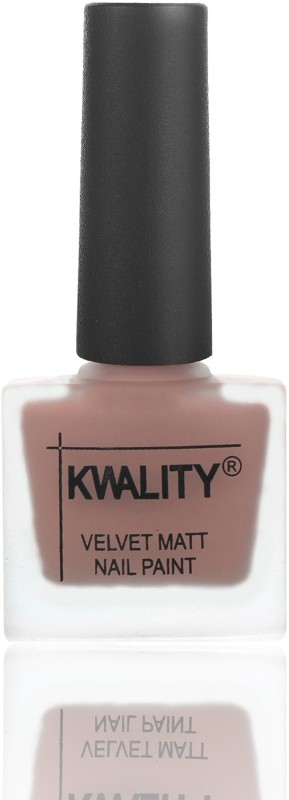 Kwality Premium Velvet Dull Matte Nail Polish / Posh Shades Party Girl Range Nail Polish Salmon Run
