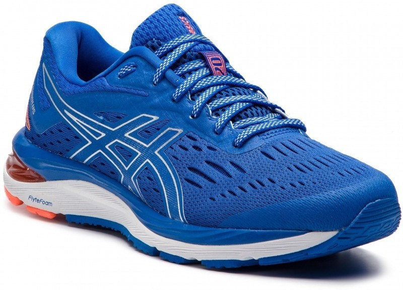 Asics GEL-CUMULUS 20 Running Shoes For Men(Silver, Blue)