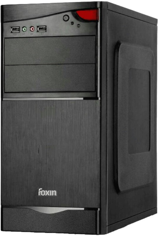 Foxin Assembled CPU With WIFI with Dual Core Processor 4 GB RAM 500 GB Hard Disk 0.512 GB Graphics Memory(Windows 7 Ultimate)
