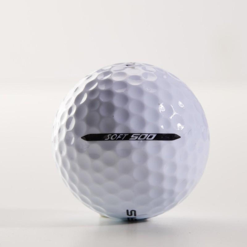 DECATHLON GOLF BALL 500 SOFT X12 WHITE PACK OF 12 Golf Ball(Pack of 12, White)
