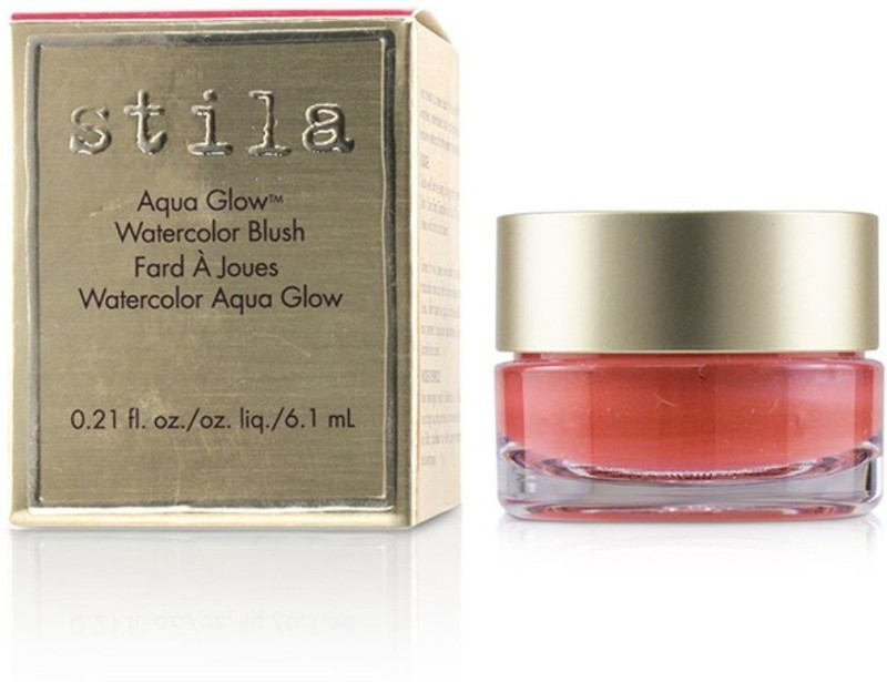 Stila Aqua Glow Watercolor Blush - # Water Lily_8824 Compact(# Water Lily, 6.1 ml)