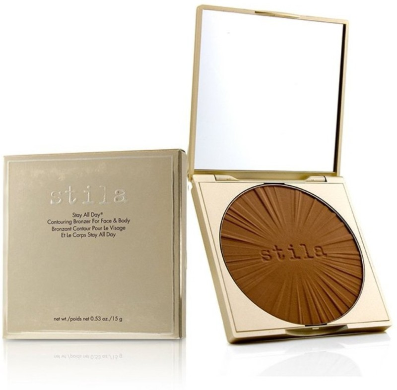 Stila Stay All Day Contouring Bronzer For Face & Body - # Medium_8834 Compact(# Medium, 15 g)