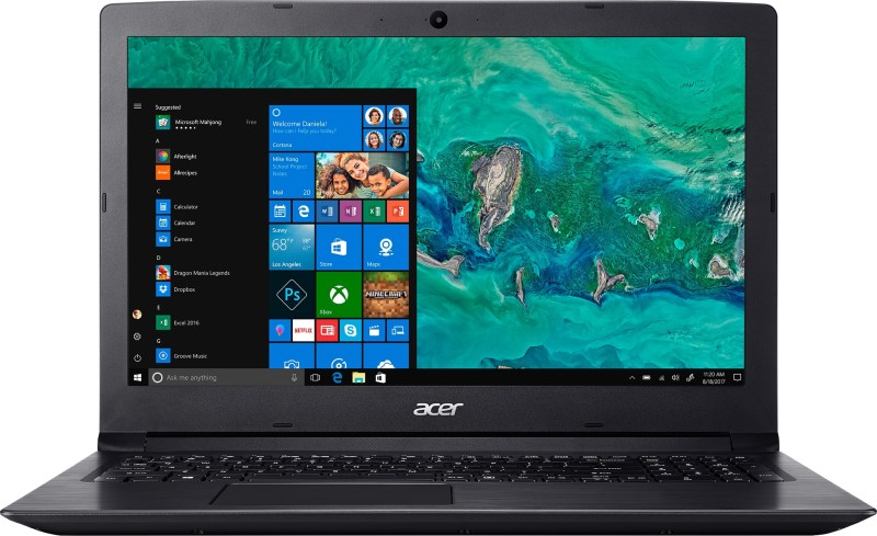 Acer Aspire 3 Celeron Dual Core - (2 GB/500 GB HDD/Windows 10 Home) A315-33 Laptop(15.6 inch, Black, 2.1 kg)