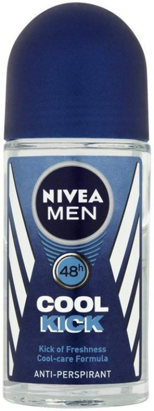 Nivea Men AntiPerspirant, Cool Kick Deodorant Spray - For Men & Women(50 ml)