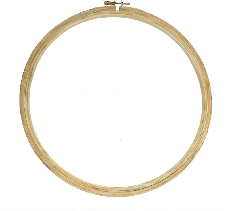 Embroiderymaterial 10 Inch Round Wooden Embroidery Hoop(Pack of 1)