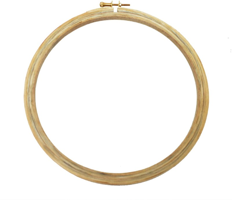 Embroiderymaterial 8 Inch Round Wooden Embroidery Hoop(Pack of 1)