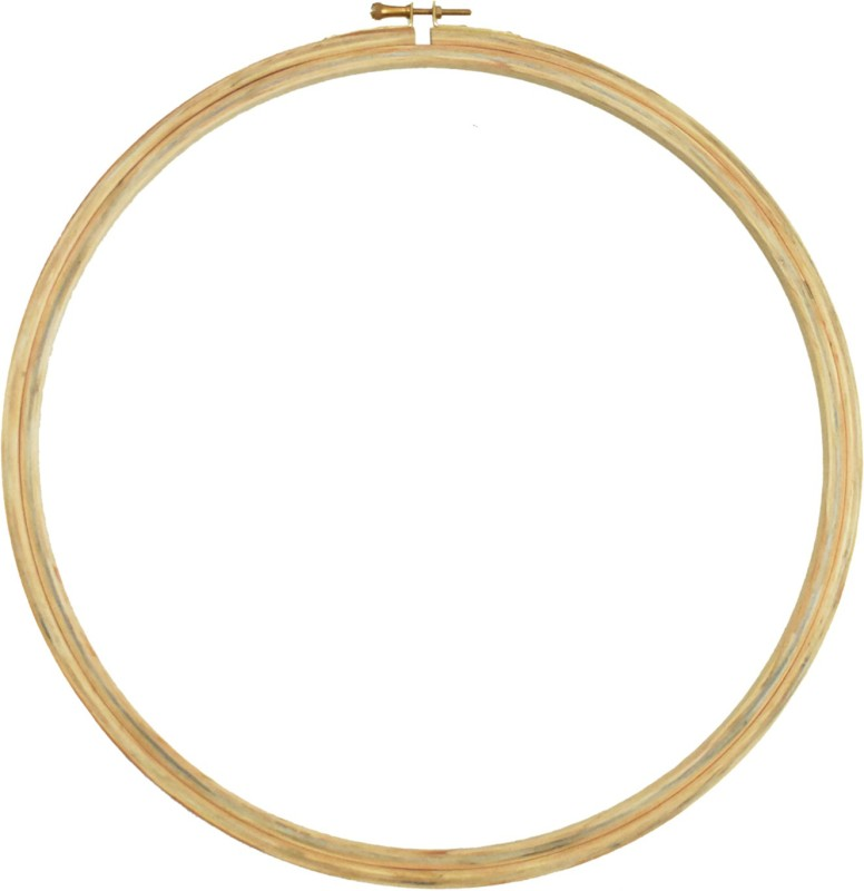 Embroiderymaterial 12 Inch Round Wooden Embroidery Hoop(Pack of 1)