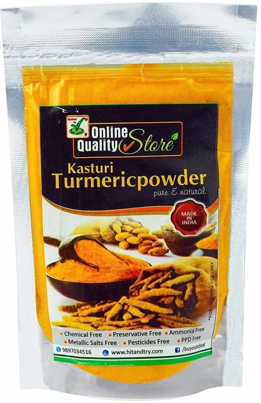 Online Quality Store Organic Kasturi Turmeric Powder_600g(600 g)
