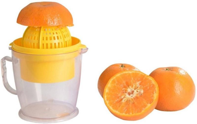 Brandwire 2 in 1 Orange - Grape - Watermelon Handy Plastic Hand Juicer(Yellow Pack of 1)