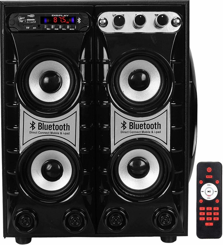 classic gold Bahubali Tower 7500W PMPO with FM, Bluetooth, USB and Aux (2) 4.1 (Tower Speaker, Floor-standing speakers) 4.1 Home Cinema(Tower Speaker, Floor-standing speakers)