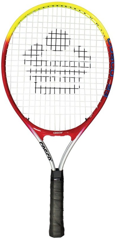 Cosco Drive 23 (6 to 8 Year Only) (Color on Availability) Multicolor Strung Tennis Racquet(G3 - 4 3/8 Inches, 245)