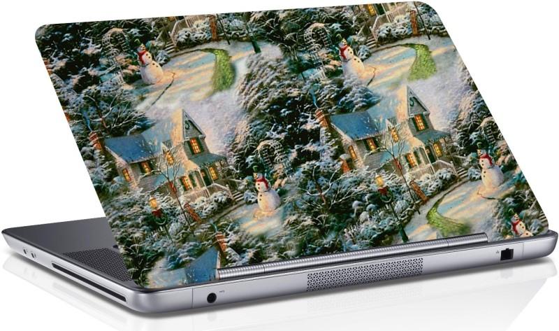 RADANYA Christmas Skin Vinyl Laptop Decal 15.6