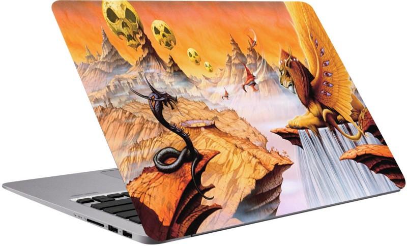Richerbrand Lion and snake laptop skin-Laptop Protector Vinyl-Quotes laptop skin -3M Vinyl-Laptop skin 15.6 inch-Laptop Sticker 15.6 inch-laptop skin sticker-497 Premium Quality 3m Vinyl,Bubble Free,Scratchproof,unique Laptop Skin/Cover for 15.6 inches La