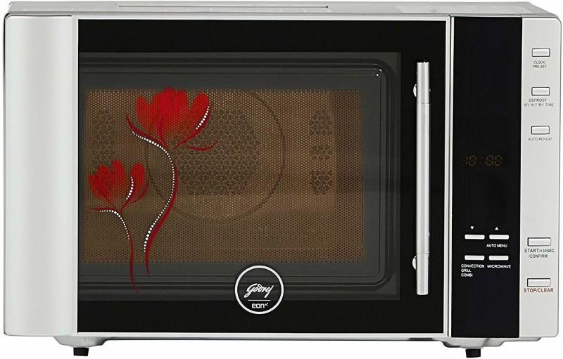 Godrej 30 L Convection Microwave Oven(GME 530 CF1 PM –BLK Mirror Elec, Black)