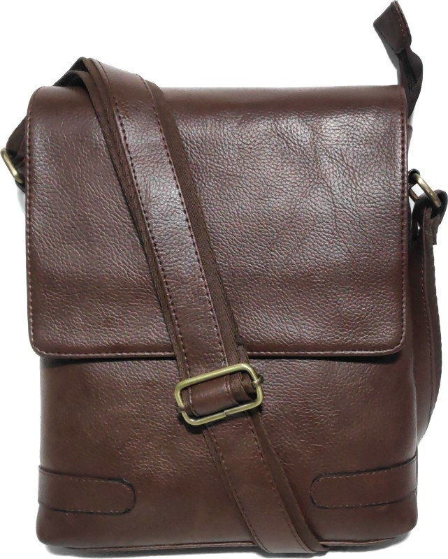 AZED Collections Brown Sling Bag